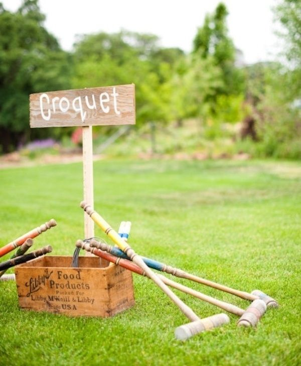 6 Gorgeous Engagement Party Themes To Fall In Love With The Wedding Shoppe In 2020 Garden Wedding Games Croquet Party Garden Party Wedding