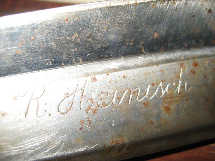 R.Heinisch signature