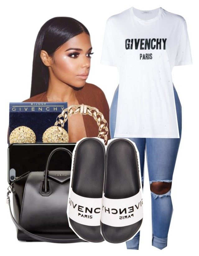 """""""G I V E N C H Y """" by shamyadanyel ❤ liked on Polyvore featuring Givenchy"""