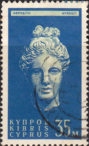 Stamps Cyprus 1955 New Currency SG 183 Fine Used Scott 178 Other Cyprus Stamps HERE