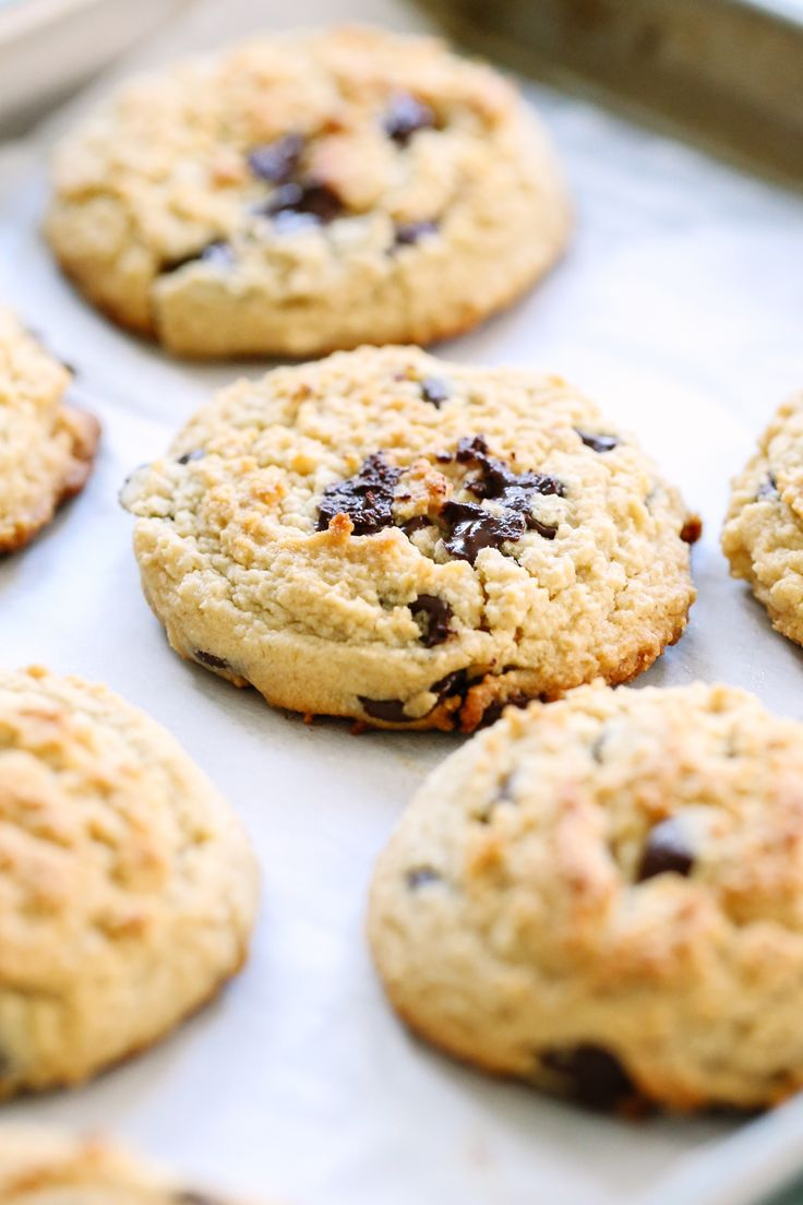 best gluten free chocolate chip cookies with oat flour
