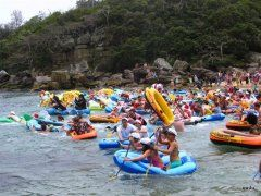 Manly Inflatable Boat Race | Events in Sydney Now in its 12th year