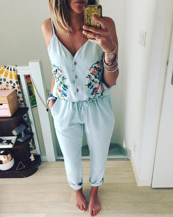 Coup de foudre pour cette combinaison-pantalon brodée >> http://ptilien.fr/oR00