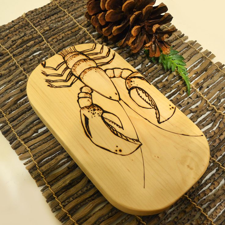 Woodburning by Slavic Woodworks
