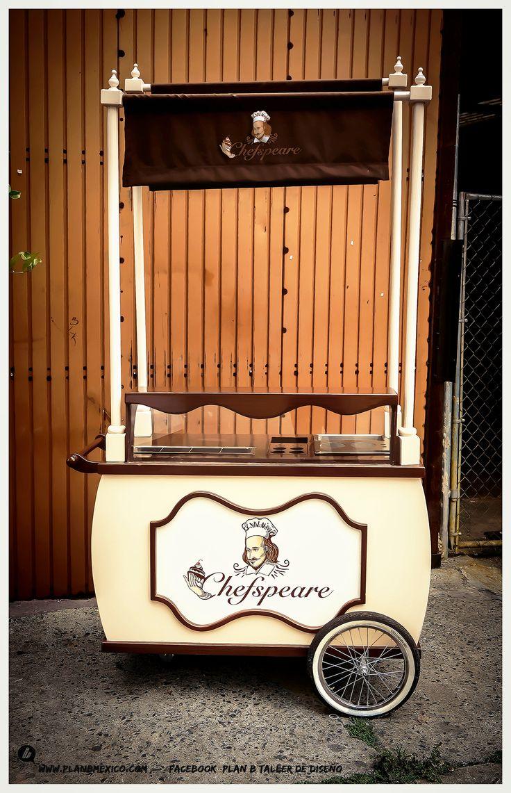 Carrito carro carreta para crepas termico - Estilo vintage decoracion ...