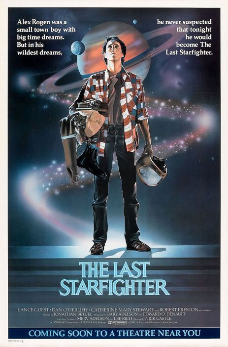 The Last Starfighter poster---oh my gooshnibs I love this movie!