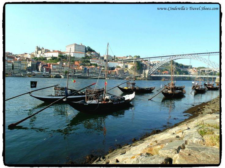 View from Gaia to Porto