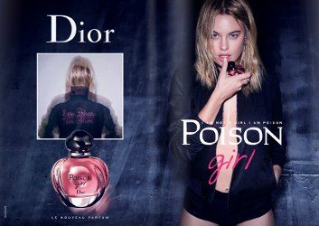 Camille Rowe for Dior Poison Girl