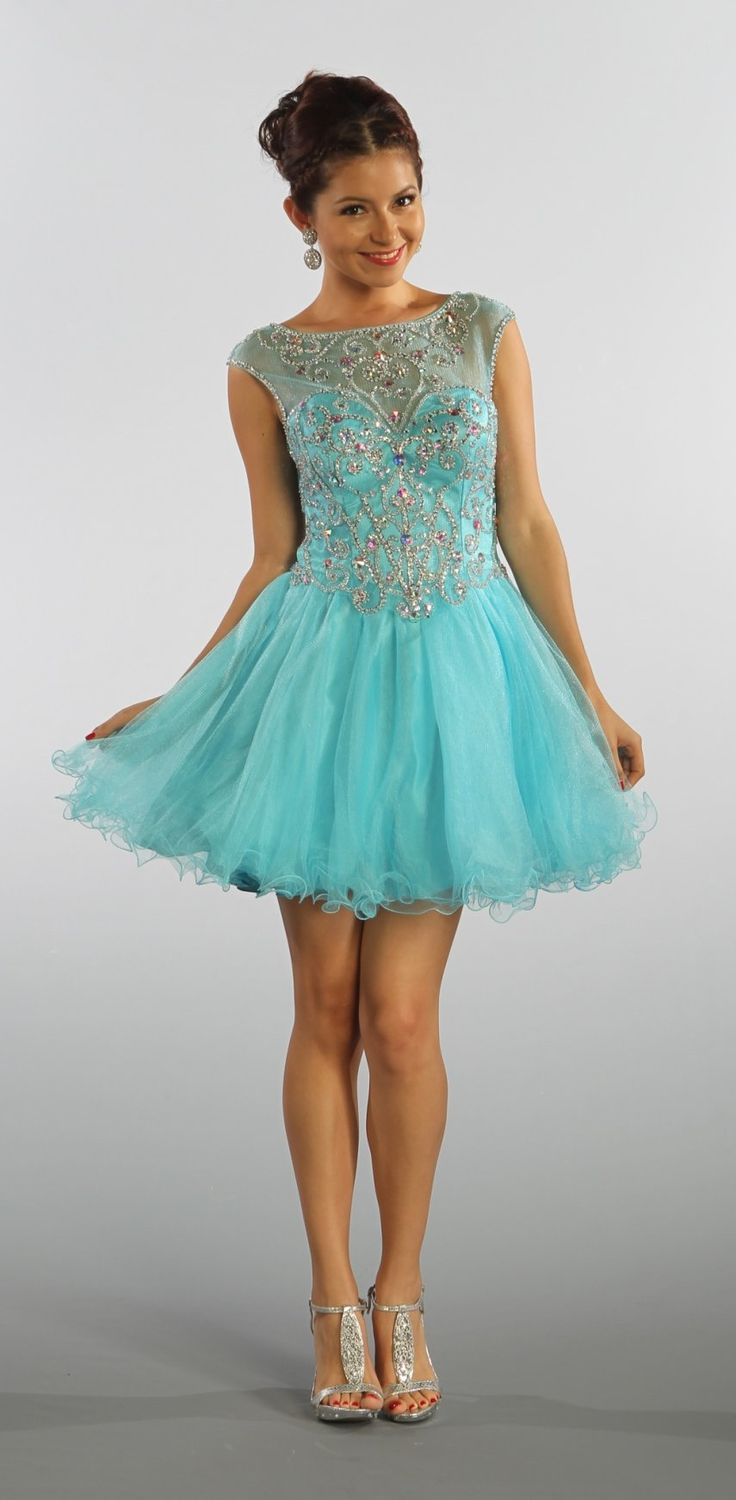 Short Poofy Homecoming Dresses Cocktail Dresses 2016