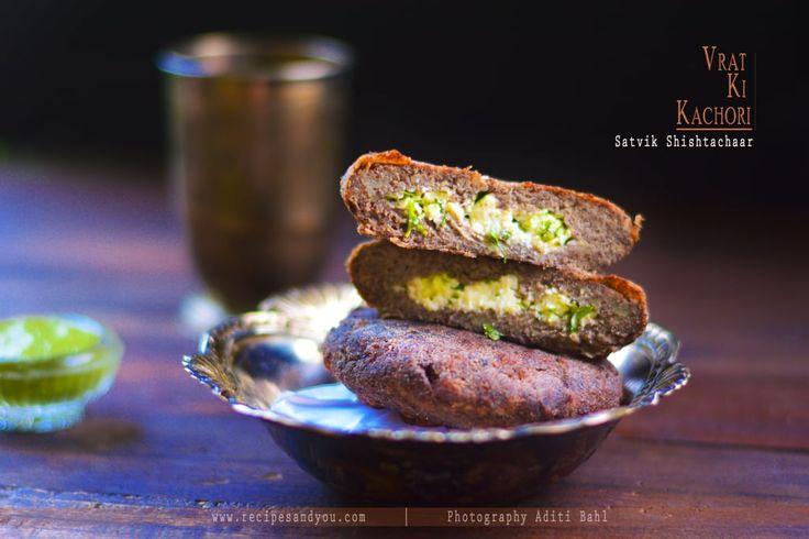 Vrat Ki kachori or Kuttu ki kachori/Buckwheat Pastry is a cottage cheese stuffed…