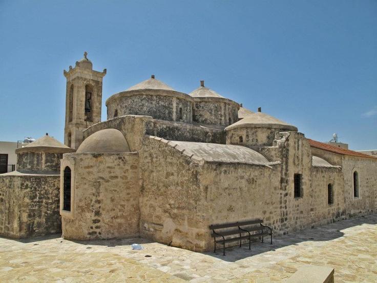 Byzantine church of agia paraskevi in geroskipou cyprus for Architecture byzantine