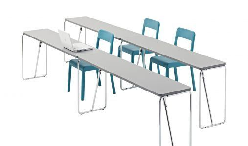 Contemporary folding table - FOLD-UP by Lucci & Orlandini - SEGIS