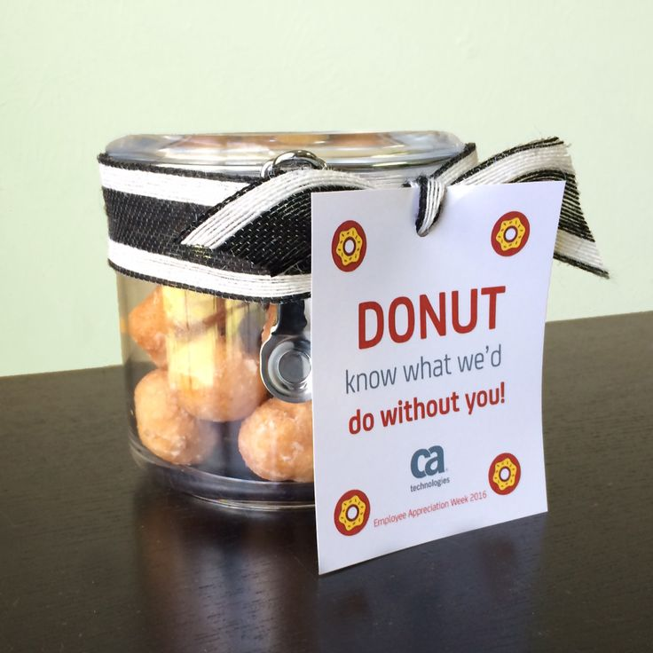donuts how to 6 easy gift ideas for employee appreciation week