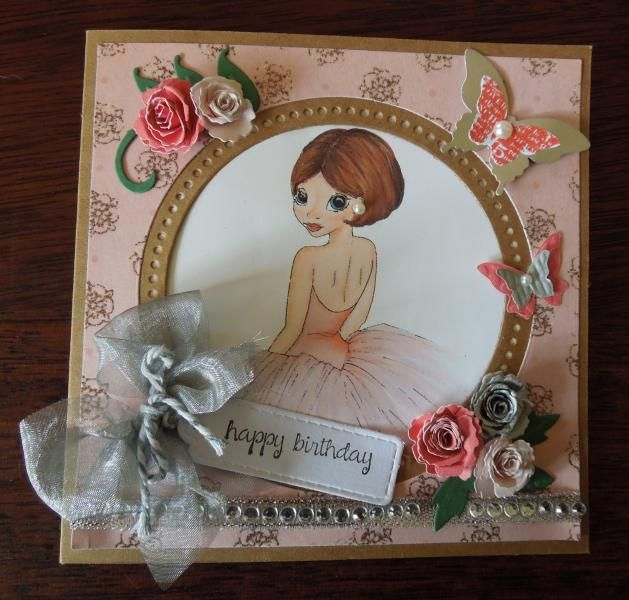 girl card by charlie horse - Cards and Paper Crafts at Splitcoaststampers