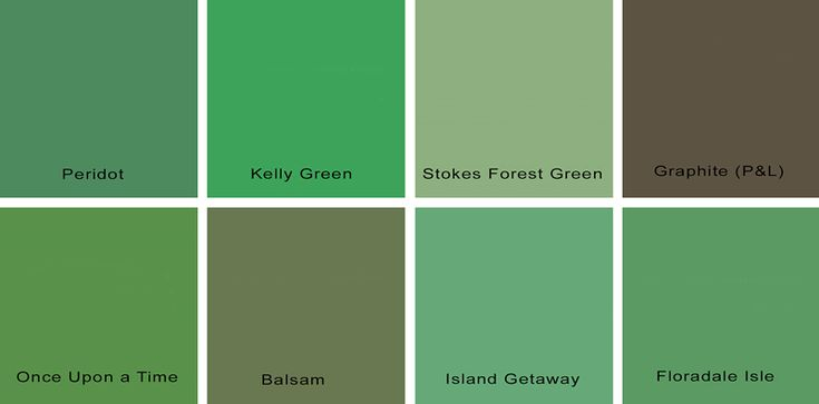 Paint Kelly Color Green Colors