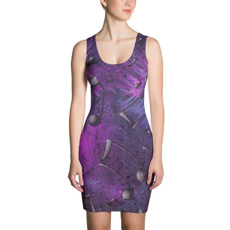 Fresh-AZ Dark Techno Cut & Sew Dress