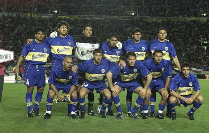 Boca Juniors - Copa Intercontinental 2000 Equipo