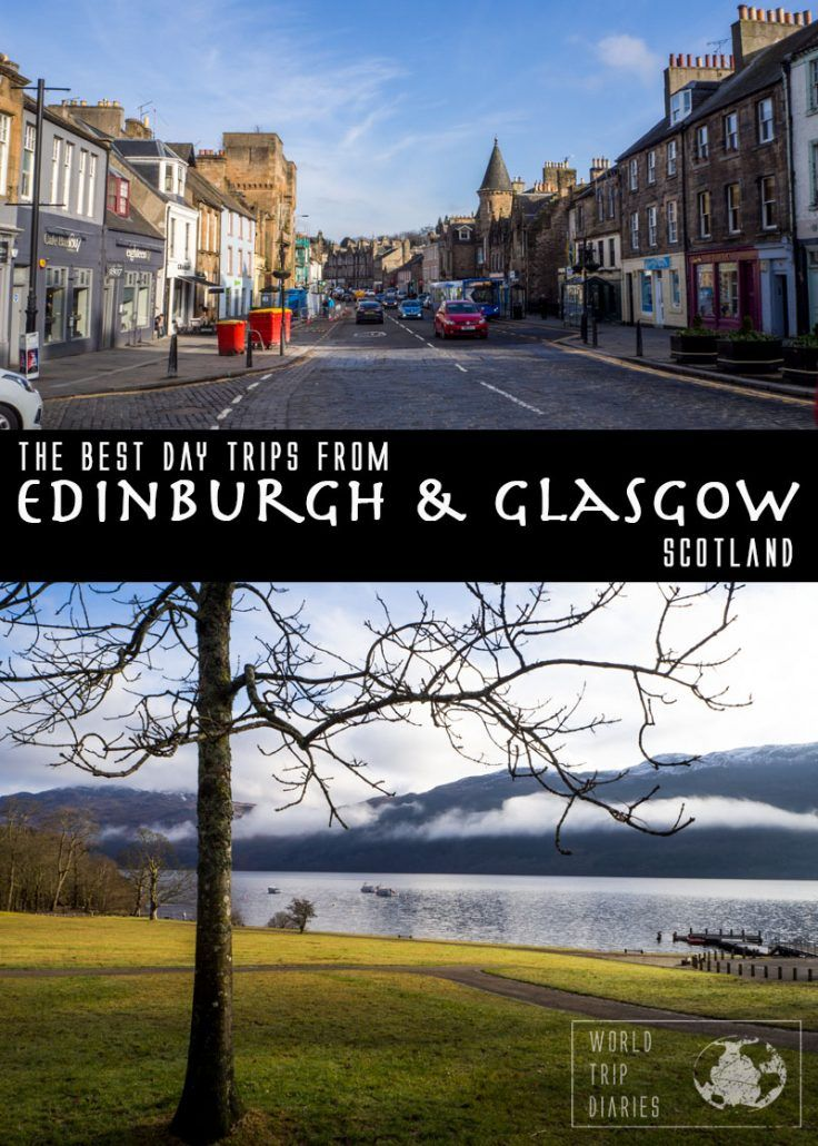 Scotland is full of beautiful places to visit. Here are the best family-friendly day trips from Edinburgh or Glasgow! Click for more! #edinburgh #glasgow #scotland #uk #europe #family #travel