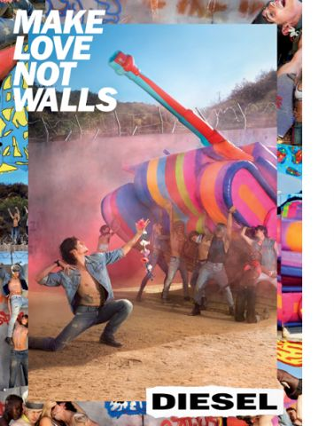 "Diesel ""Make Love No Walls"" Campaign"