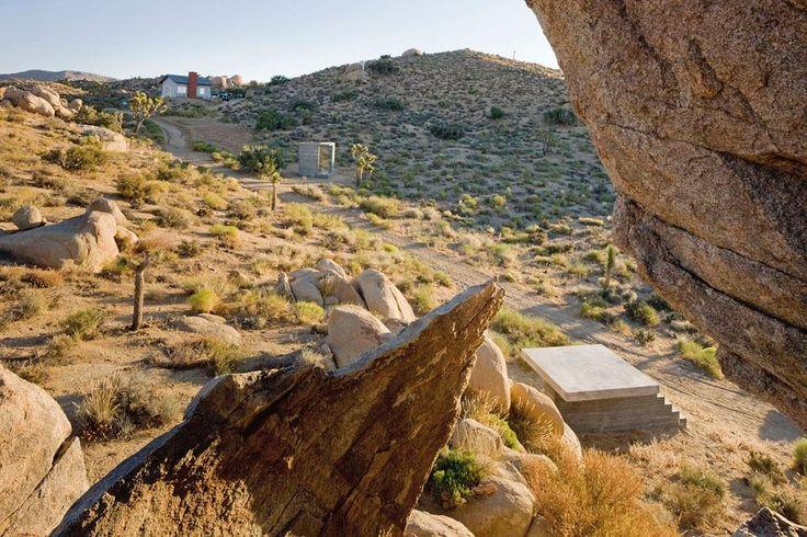 Mojave desert pavilions, Isozaki