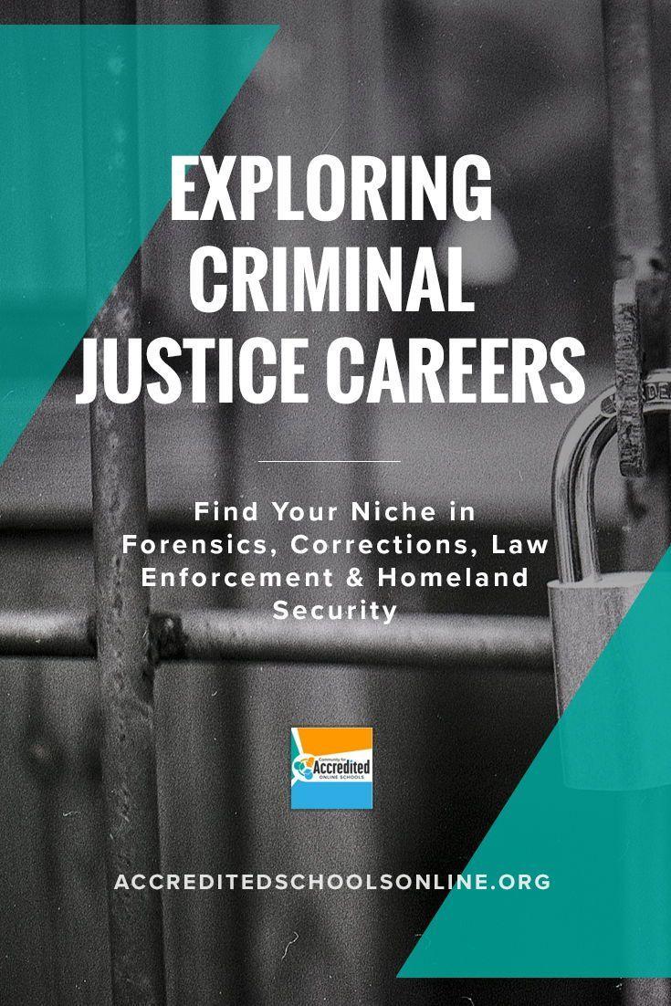 Explore Careers In The Criminal Justice Field Criminal Justice