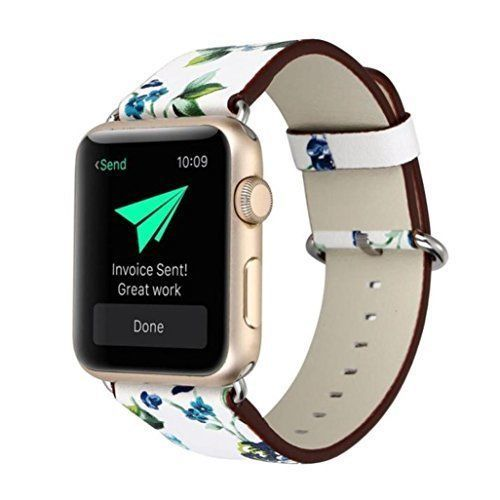 Watch Band For Apple 42mm Leather Durable Metal Clasp iWatch Strap Series1 2 New #WatchBand42mm