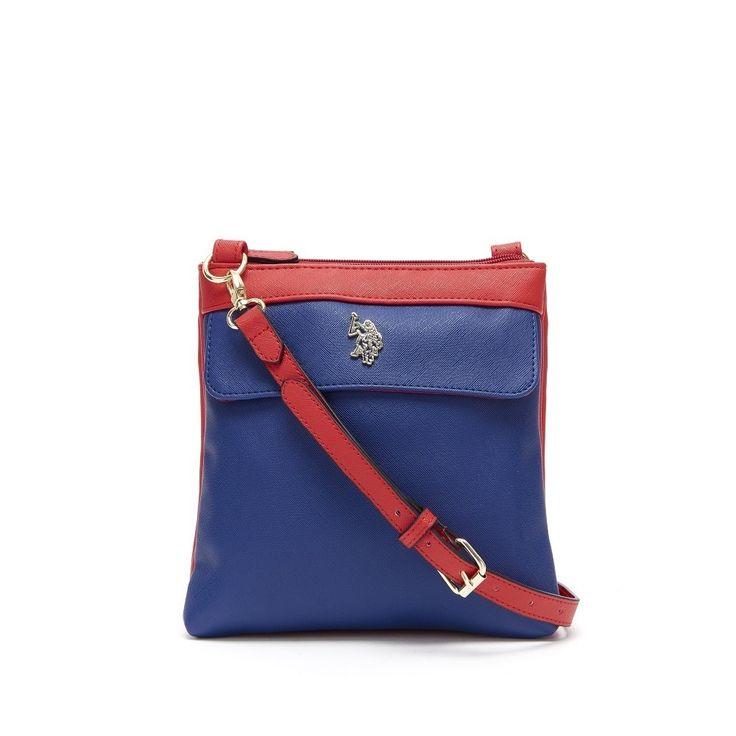 U.S. Polo Assn. Jenna Double Entry Crossbody Handbag