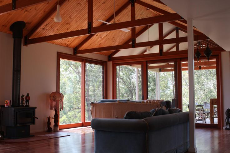 Exposed Truss - Gumma Residence | Nest Architects 2014