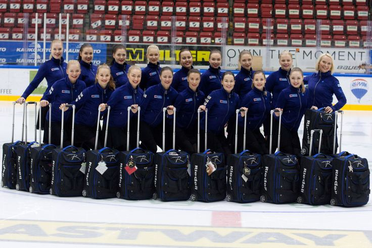 Shout-out to the Finland Rockettes, who finished third earlier this month at the 2014 World Synchronized Skating Championships in Courmayeur, Italy! #figureskating #Riedell #bronzemedal