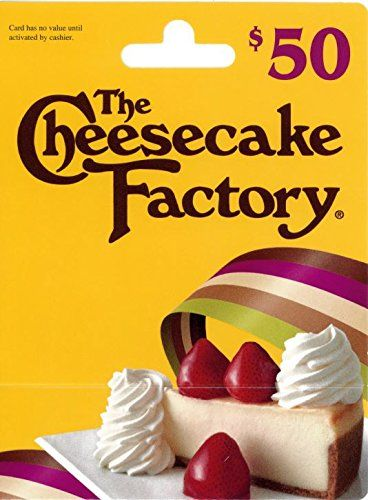 The Cheesecake Factory Gift Card, 2016 Amazon Most Gifted Restaurants  #Gift-Cards