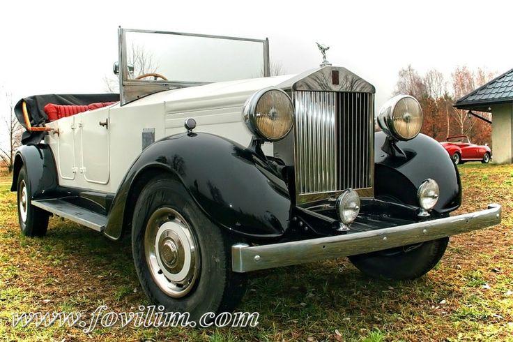 Kabriolet Rolls-Royce 20HP z 1931r | Warszawa