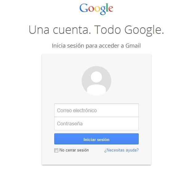 iniciar sesion gmail