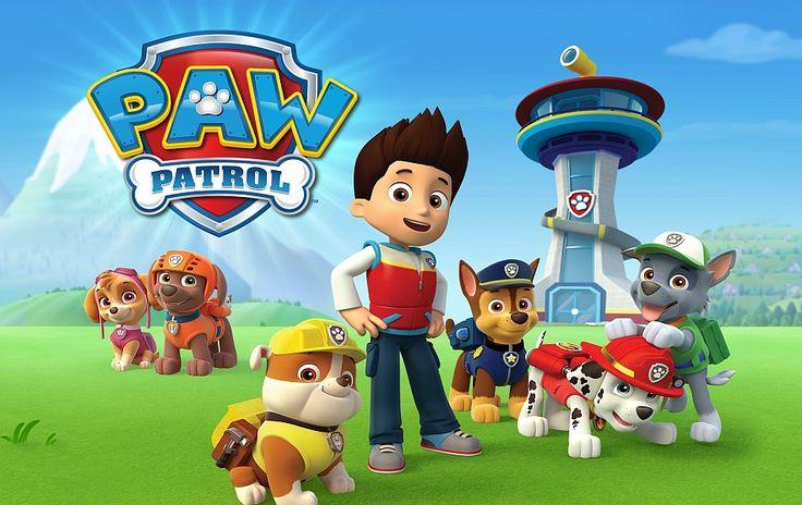 Paw patrol puppies. Psi patrol puzzle