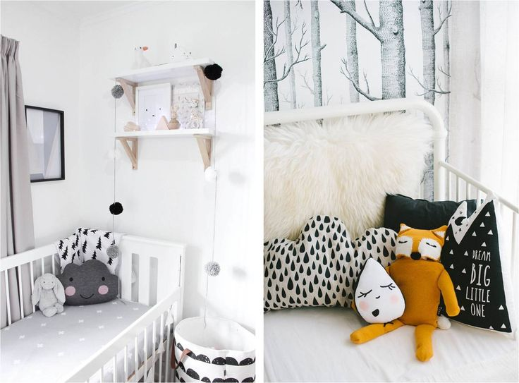 Unisex Kids Room Scandi Inspiration