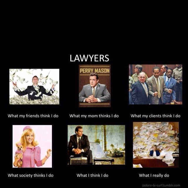 Always love a good lawyer laugh...