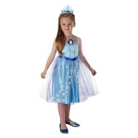Disney Frozen  Elsas Dress  Girls Size 4-6X