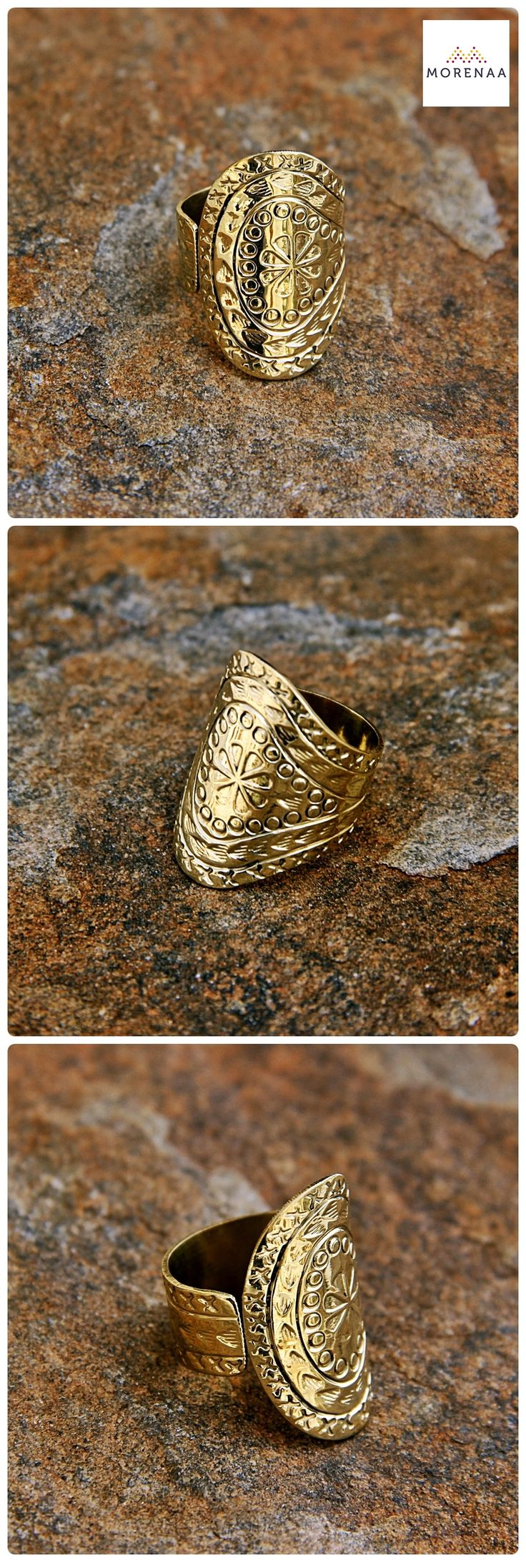 Boho ✤ Chic Anillos hechos en India $7.990 #anillos #rings #bohemianstyle #morenaa #lomejordecadalugar ✤✤✤✤✤✤✤✤