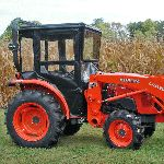 Click here to Purchase! ECONOMY TRACTOR CAB FOR THE KUBOTA STANDARD L SERIES - L2501, L3301 & L390. Tractor Cab.