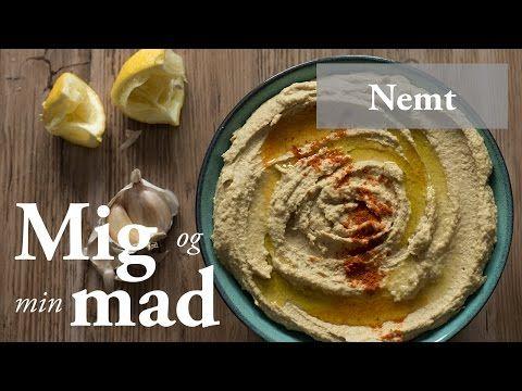 Hummus opskrift - hjemmelavet cremet hummus med tahin - se her