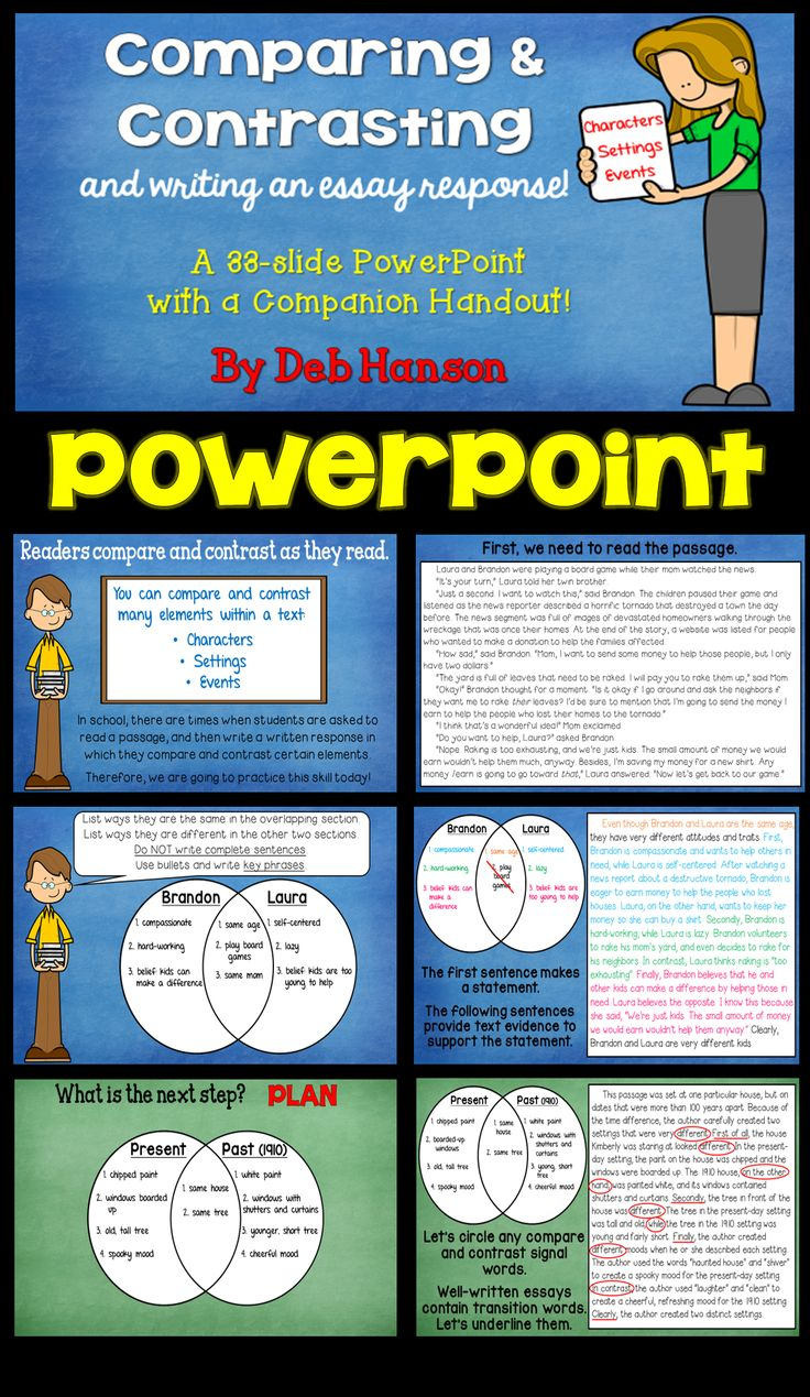 best images about compare contrast texts compare and contrast powerpoint