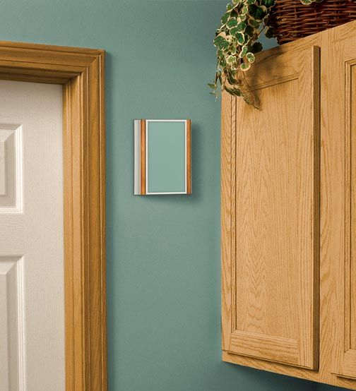 Oak Trim White Door Wallpaper Decorate Wireless