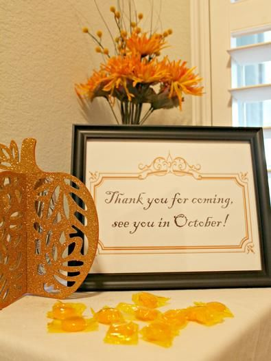 Thank you for coming, see you in....sign for bridal show or bachlorette/engagement party