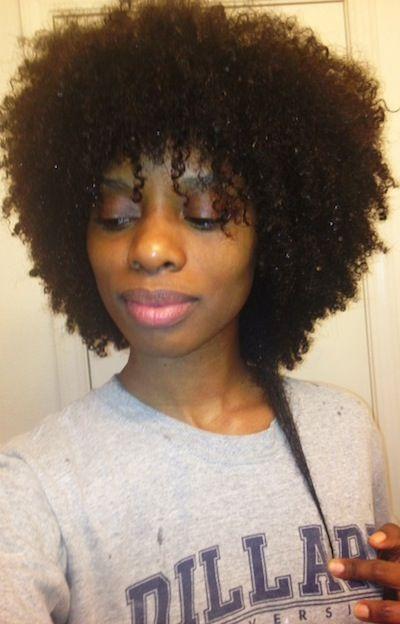 Kartis // 4B Natural Hair Style Icon | Black Girl with Long Hair