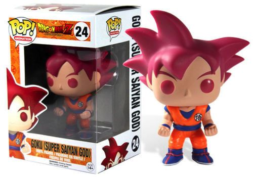 Funko Pop! Animation Dragon Ball Z Battle of the Gods Super Saiyan God Goku…