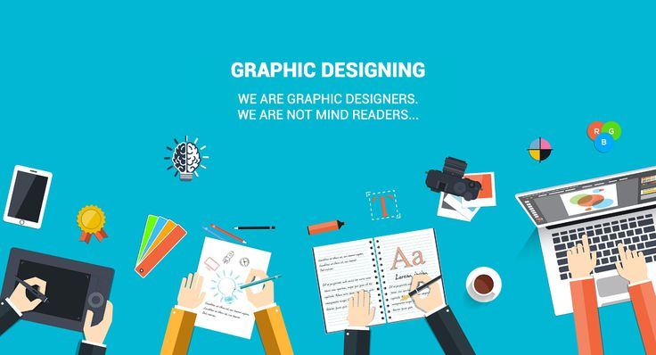 #Graphic_Designing  We are graphic designers. We are not mind readers.