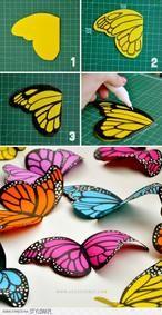 beeldschone vlinder, kan niet wachten om hem te gaan maken