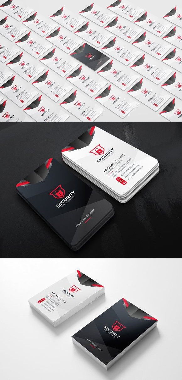 Security Business Card Business Cards Cards Visiting Cards