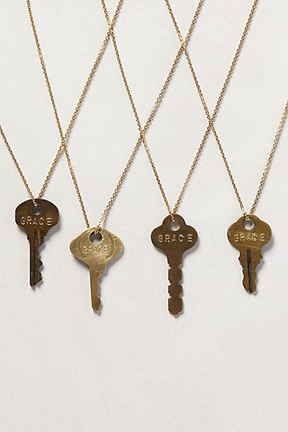 Dainty Giving Key Necklace