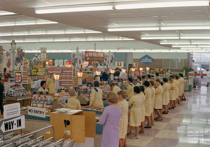 Coles New World Greensborough Melbourne 1968