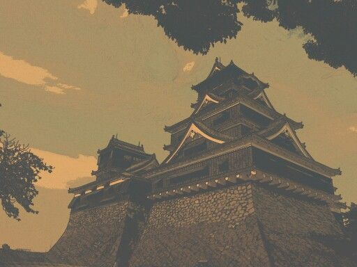 일본 여행서 찍은 구마모토성 왜 난공불락인지 알았지만 동시에 콘크리트의 느낌은 묘했다